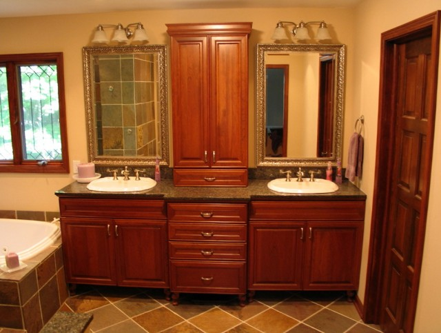 Bathroom Double Vanity Design Ideas