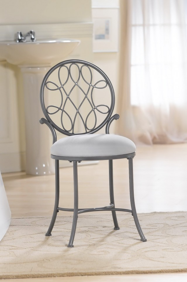 Bathroom Vanity Chairs With Backs