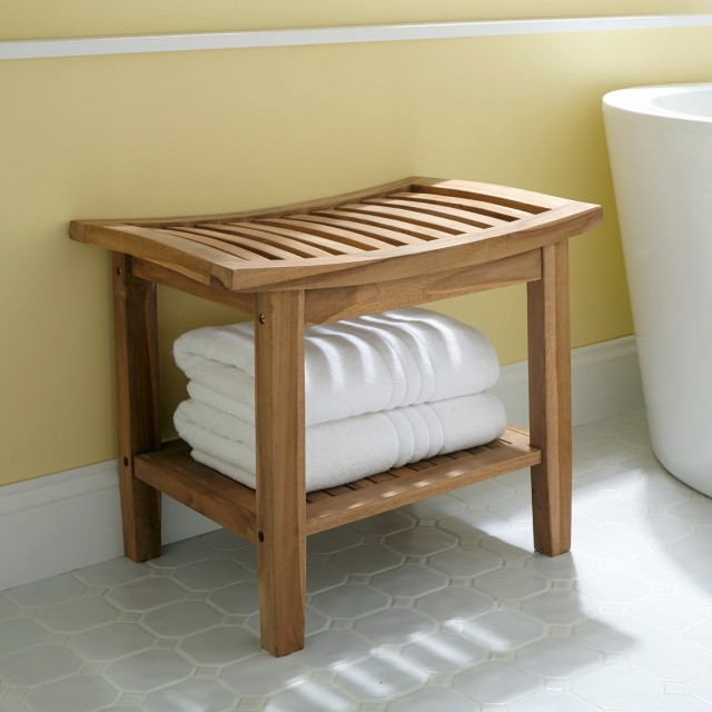 Bathroom Vanity Stool With Storage