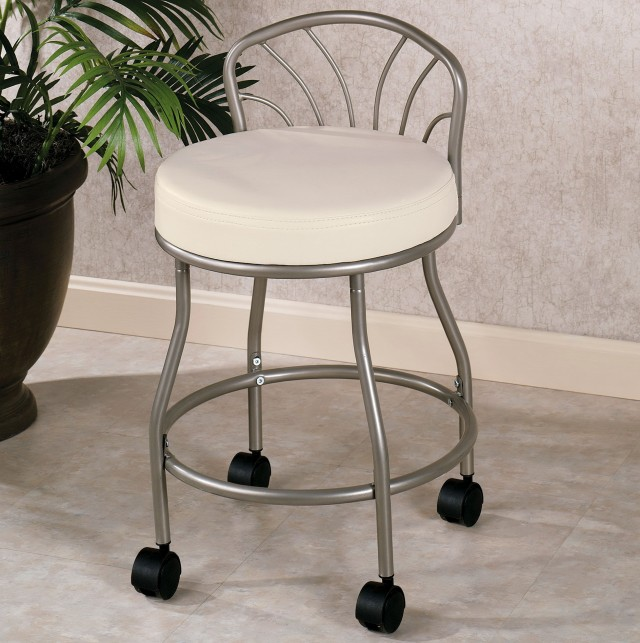 Bathroom Vanity Stools With Wheels