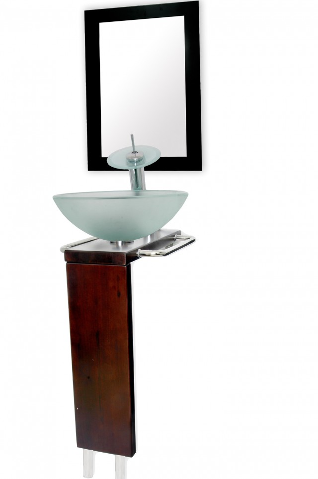 Bathroom Vanity Vessel Sink Combo