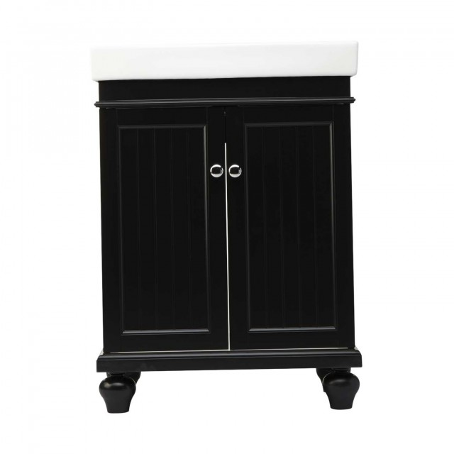 Black Bathroom Vanities And Cabinets