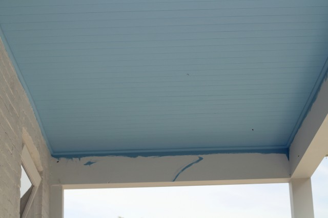 Blue Porch Ceilings Charleston