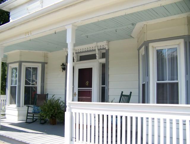 Blue Porch Ceilings Charleston Sc