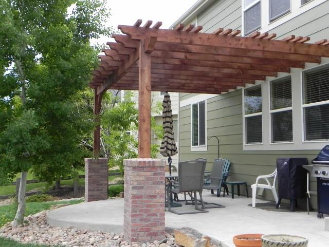 Brick Porch Column Base
