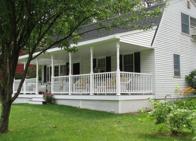 Build A Front Porch On Mobile Home