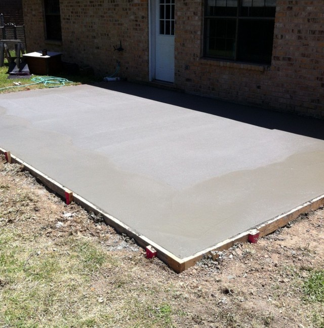 Building A Screened Porch On A Concrete Slab