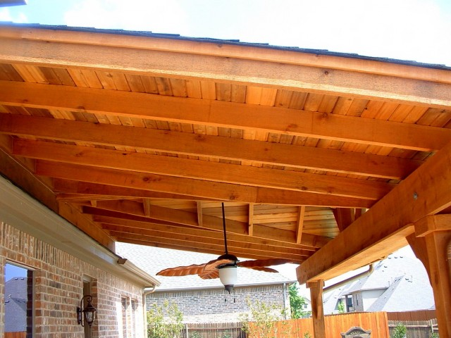 Cedar Tongue And Groove Porch Ceiling