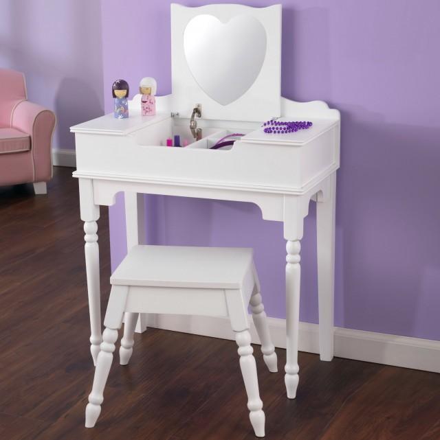 Childrens Wooden Vanity Set