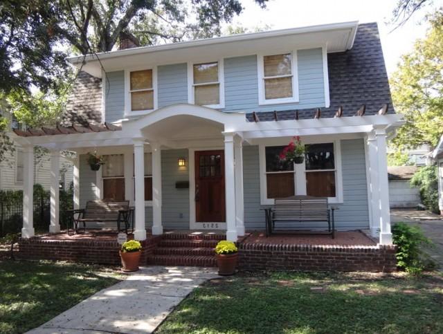 Colonial Front Porch Design Pictures