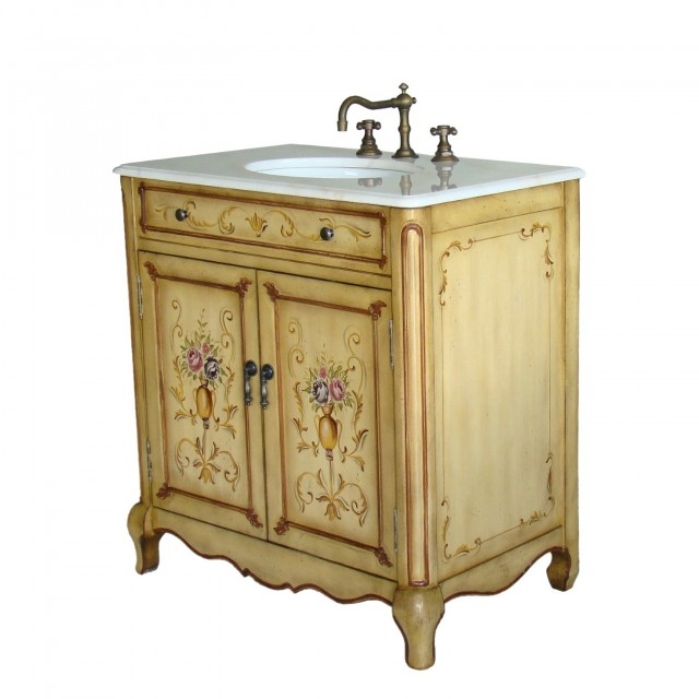 Country Style Bathroom Vanities