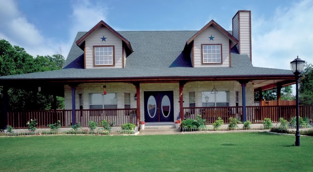 Country Style House With Wrap Around Porch
