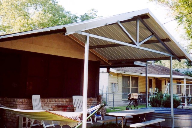 Cover Metal Porch Columns