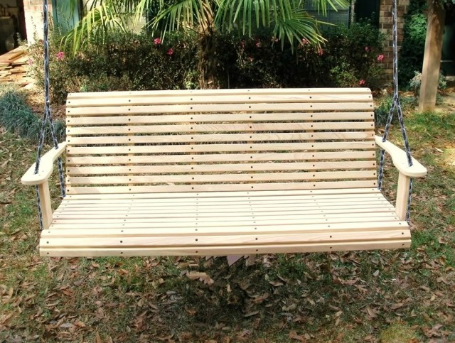 Cypress Porch Swing Lowes