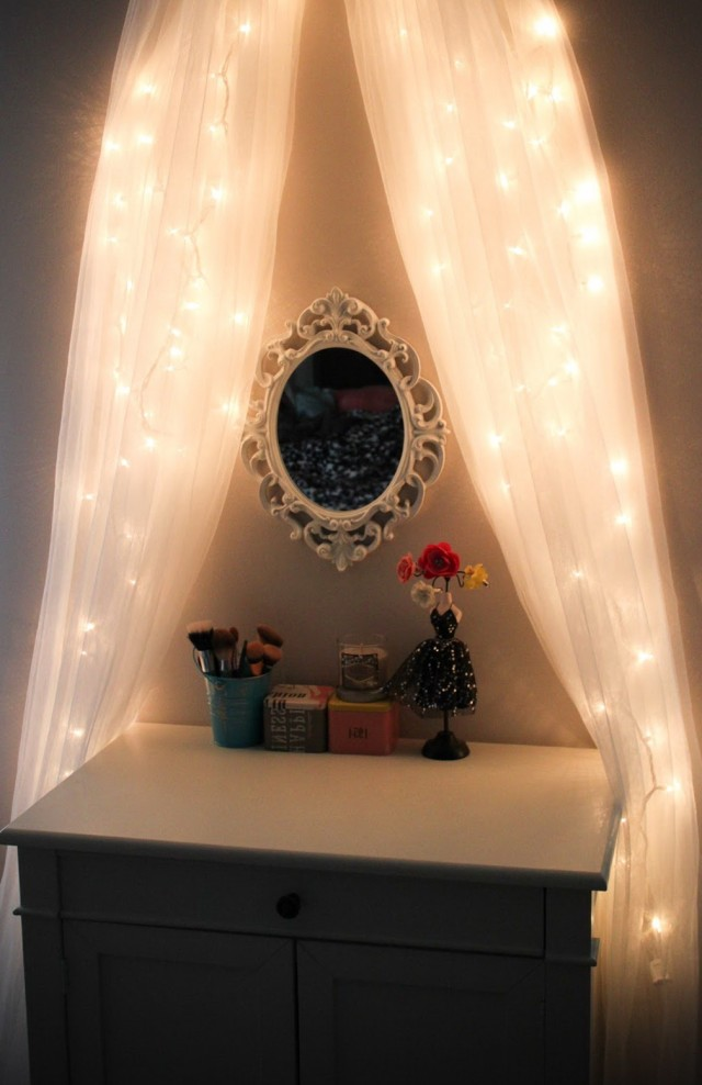 Diy Vanity Mirror With Led Lights