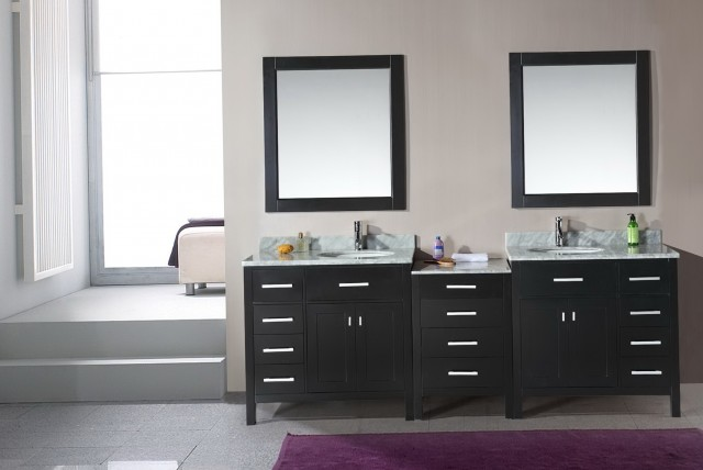 Double Bathroom Vanity Mirrors
