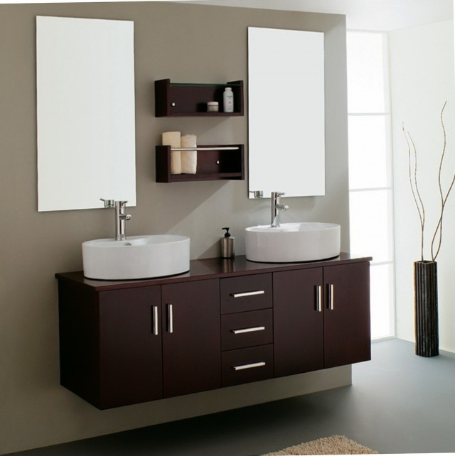 Double Bathroom Vanity Units