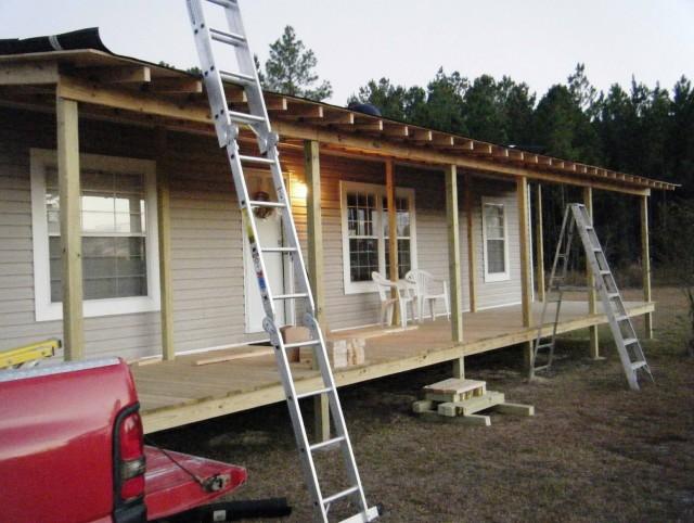 Double Front Porch House Plans
