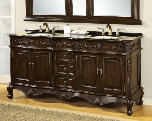 Double Vanity With Top