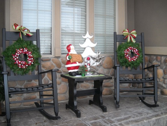 Easy Front Porch Christmas Decorating Ideas