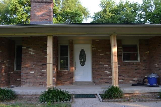 Exterior Porch Columns Home Depot