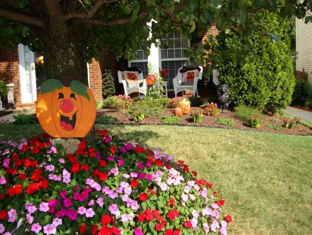 Fall Porch Planter Ideas