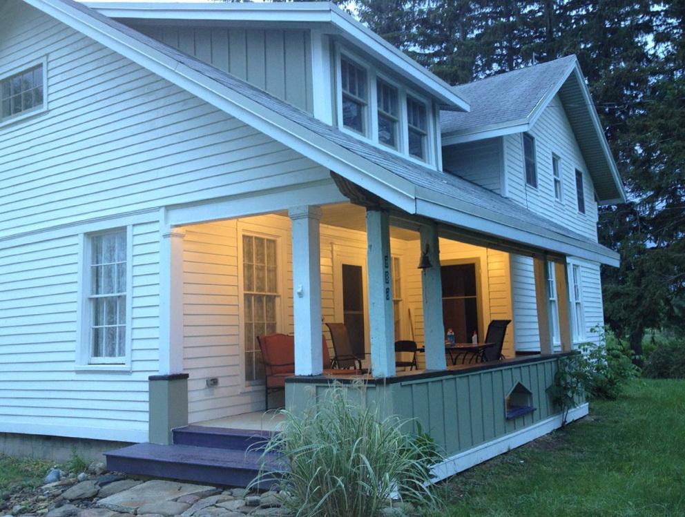 Farmhouse Front Porch Steps