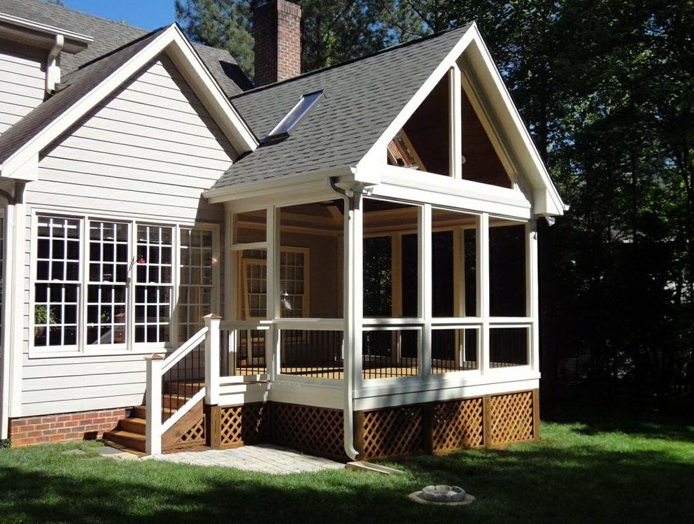 Framing A Gable Porch Roof