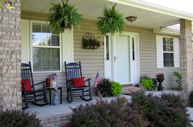 Front Porch Fall Decor Pictures