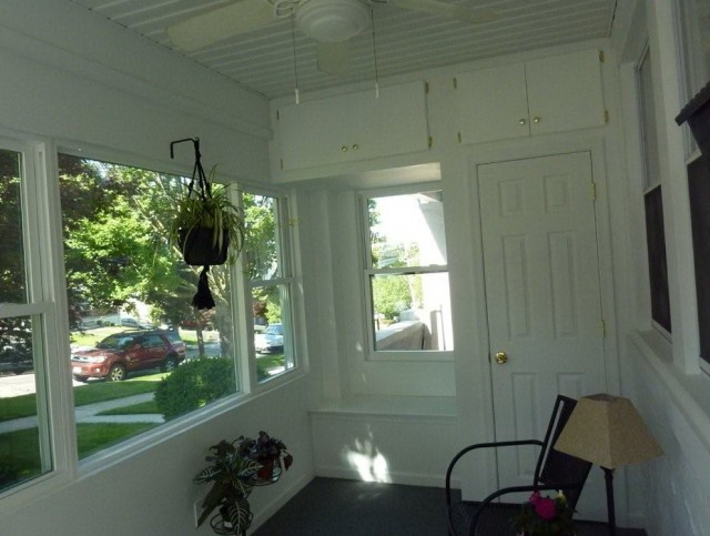 Front Porch Remodel Before And After
