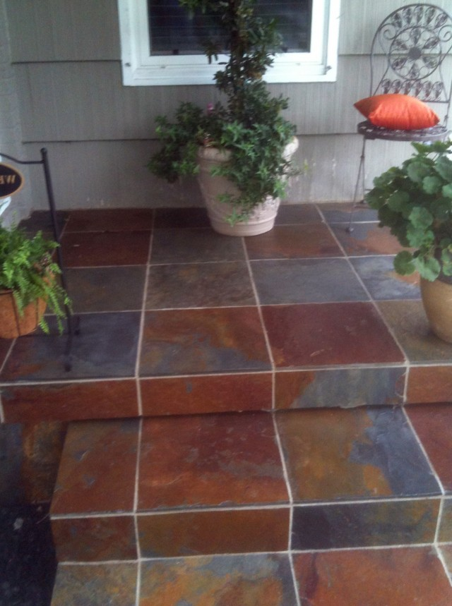 Front Porch Tile Slate