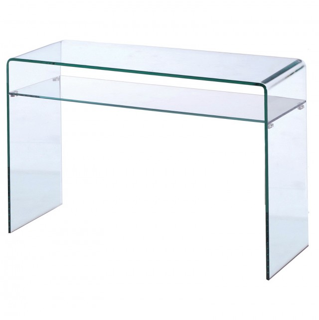 Glass Makeup Vanity Table