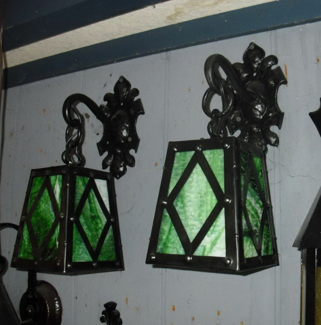 Green Porch Light For Military