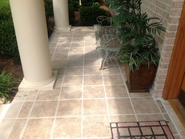 House Front Porch Tiles