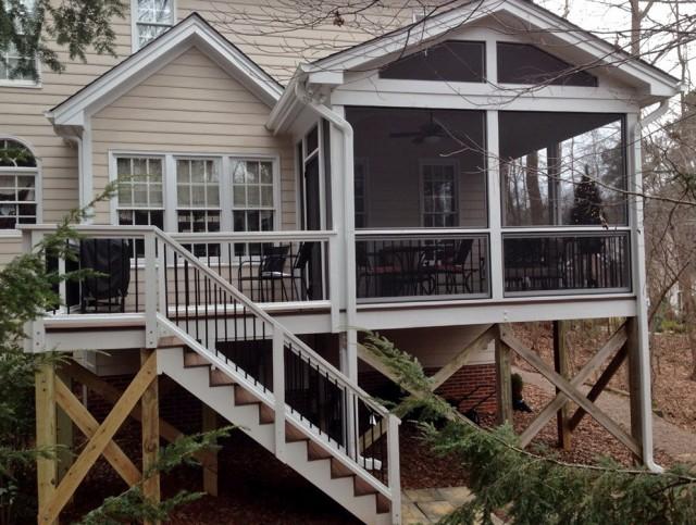 Houzz Screened Porch Ideas