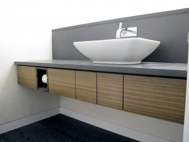 How To Build A Floating Bathroom Vanity