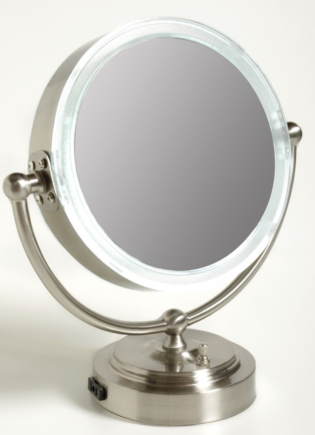 Lighted Makeup Vanity Mirror