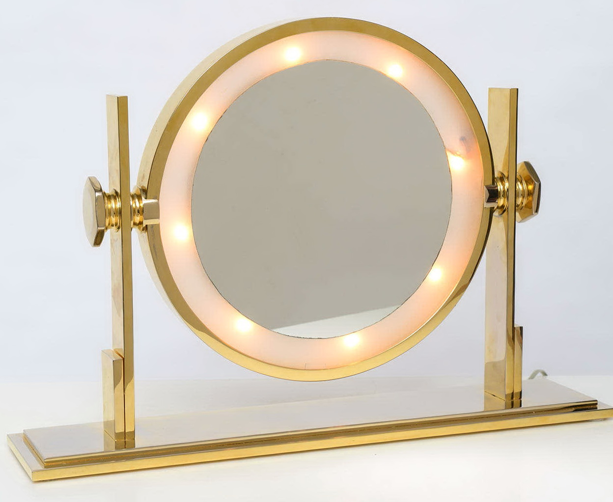 Lighted Vanity Table Top Mirrors