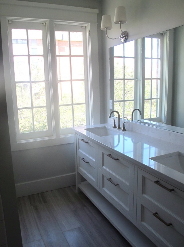 Long Narrow Bathroom Vanity