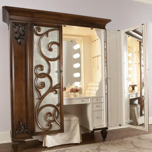Makeup Vanities For Bedrooms