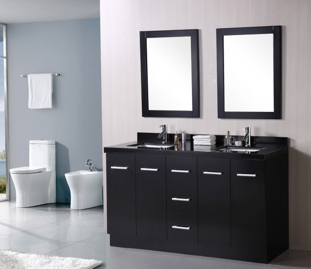 Master Bathroom Vanities Double Sink