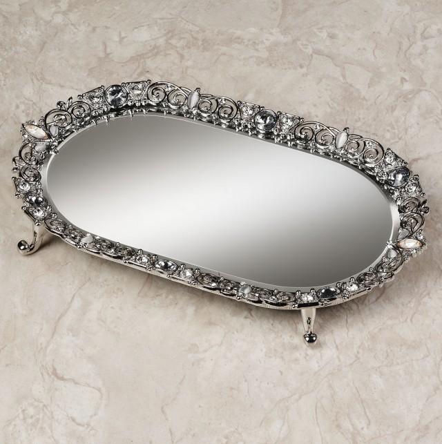 Mirror Vanity Tray Target