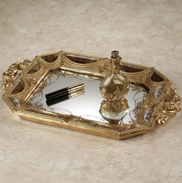 Mirrored Vanity Tray Hobby Lobby