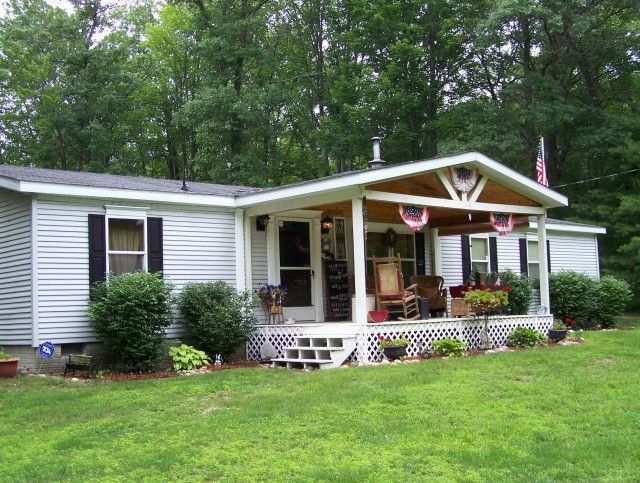 Mobile Home Front Porch Pictures