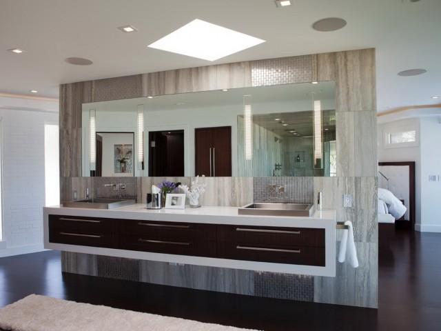 Modern Master Bath Vanities
