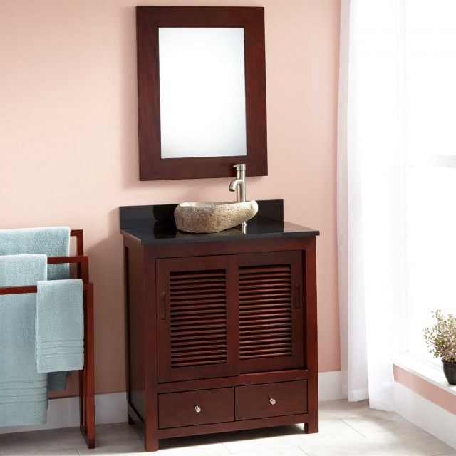 Narrow Bathroom Vanity Mirrors