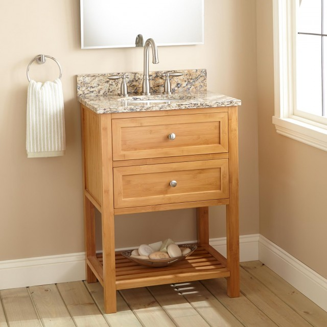 Narrow Depth Bathroom Vanity