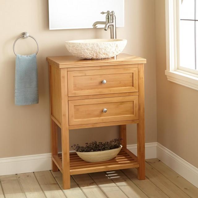 Narrow Depth Bathroom Vanity And Sink