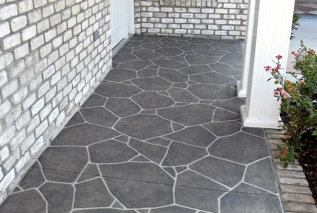 Paint Concrete Porch Floor
