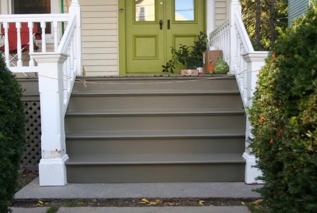 Paint Concrete Porch Steps